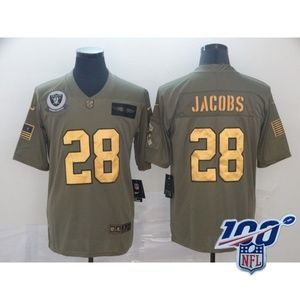 Other - Oakland Raiders Josh Jacobs Jersey (10)